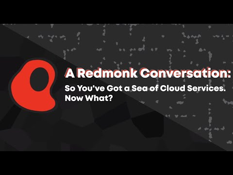 So You've Got a Sea of Cloud Services. Now What?