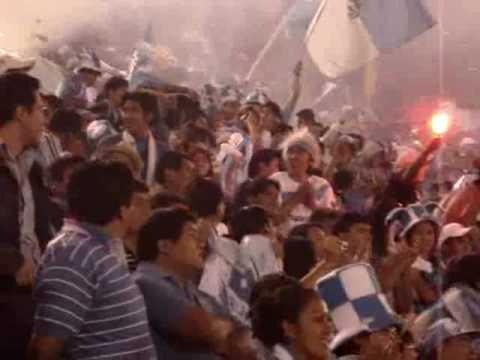 """""""Recibimiento al Club Aurora Clausura 2008[LPC]"""" Barra: Los Califachos 14 • Club: Aurora"""