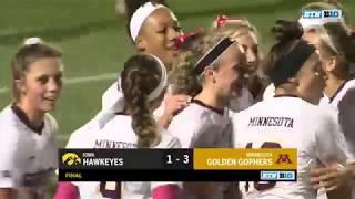 Top 3 Plays: Iowa at Minnesota | Big Ten Women