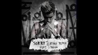 Justin Bieber Sorry Latino Remix Audio ft J Balvin