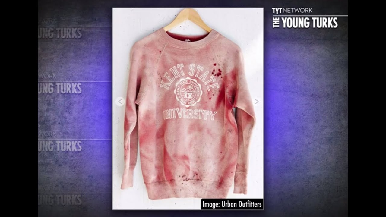 Urban Outfitters 'Unintentionally' Sells Bloody Kent State Sweatshirts thumbnail