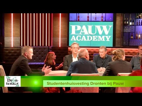 VIDEO | Studenten willen met alle partijen in gesprek over studentenhuisvesting Dronten