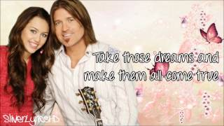 Miley Cyrus - Butterfly Fly Away (ft. Billy Ray Cyrus) - Lyrics