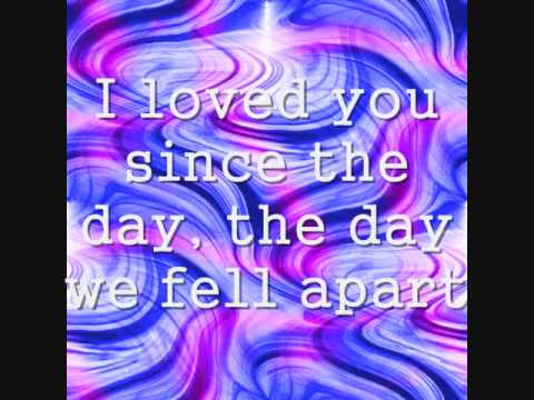Kelly Clarkson The Day We Fell Apart- lyrics