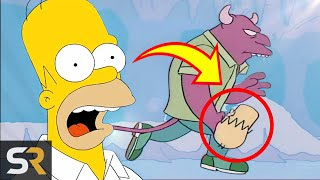 25 Simpsons Deleted Scenes That Went Too Far