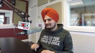 Sidhu Moose Wala On RED FM Vancouver