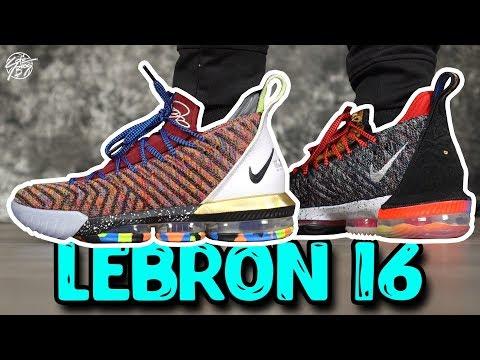 Nike Lebron 16 WHAT THE