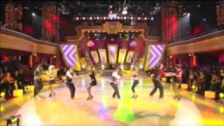 Lindy Hoppers on Dancing with the Stars