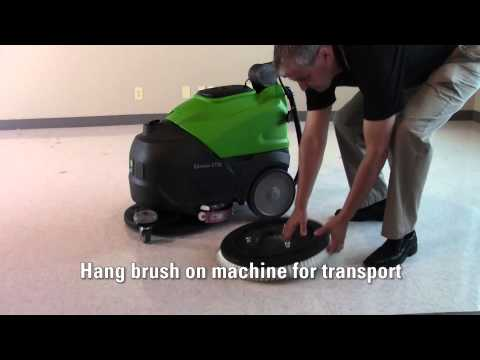 IPC CT30 Scrubber Dryers