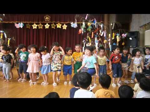 15 7 6 倉吉幼稚園 七夕まつり 4