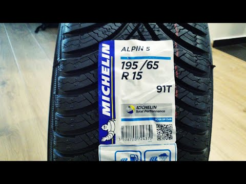 Michelin Alpin 5   195/65 R15
