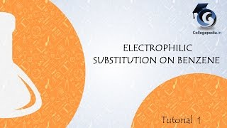 Tutorial   1 , Electrophilic Substitution on Benzene , Organic Chemistry, IIT JEE
