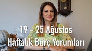 19 - 25 Ağustos Haftalık Burç Yorumları - Hande Kazanova ile Astroloji