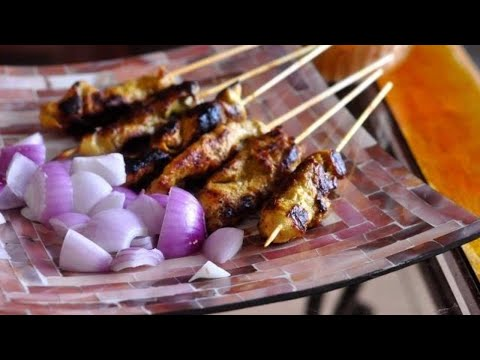Chicken Satay Recipe ( Malaysian ) | RecipesAreSimple