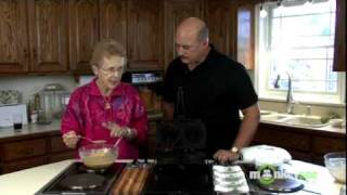 Italian Recipes - Baking Pizzelle Cookies