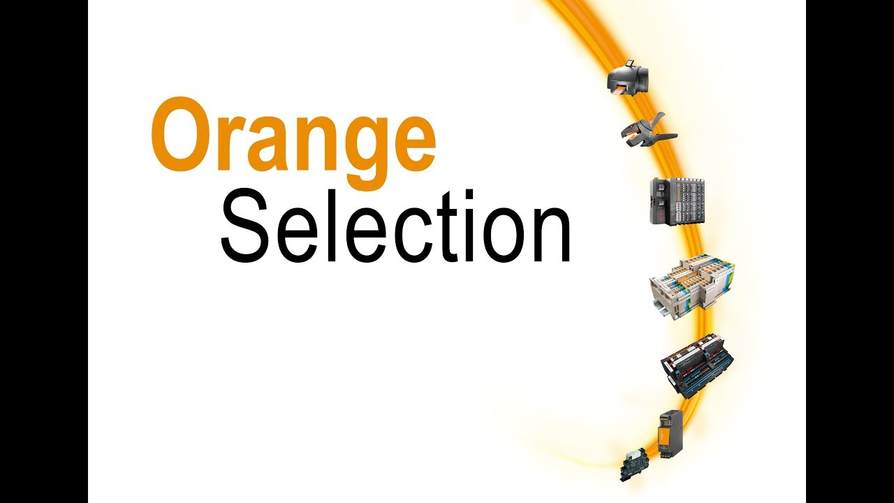 "Weidmüller ""Orange Selection"""