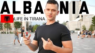 Traveling To ALBANIA Is So CHEAP - TIRANA Surprised Me In Many Ways...