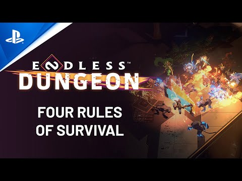 Endless Dungeon's four rules of survival