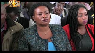 Machakos governor calls for the dismissal of a petition filed by Wavinya Ndeti