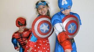أطفالي صاروا أبطال لليوم 😂