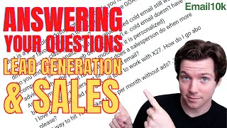 Answering Your Questions on Lead Generation & B2B Sales