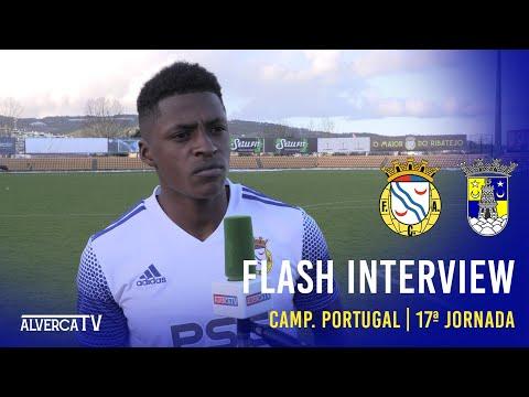 FC Alverca 3-0 SU Sintrense - Flash Interview