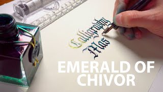 Review: J.Herbin Emerald Of Chivor: Shimmering Ink Fountain Pen