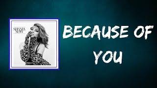 Shania Twain - Because Of You (Lyrics)