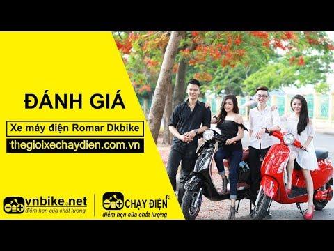 Đánh giá xe máy điện Romar Dkbike
