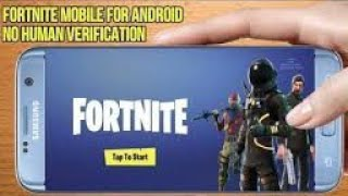 download fortnite mobile android