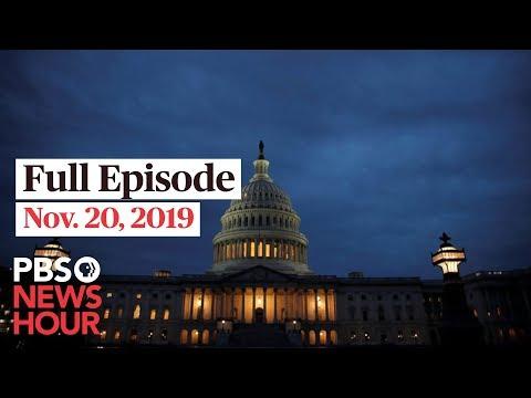PBS NewsHour West Live Episode, Nov. 20, 2019