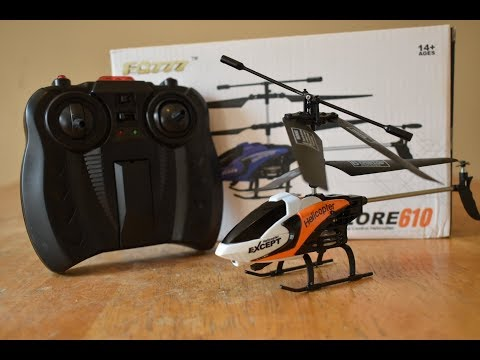 FQ777 Explore 610 Mini RC Helicopter... Unboxing and Review