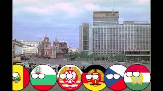 History Of Communism In Countryballs