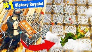 DEADLY BUMPER CARTS Custom Gamemode in Fortnite Battle Royale