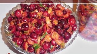 Cranberry Relish (Pickle) Recipe by Manjula