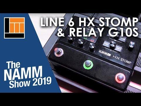 L&M @ NAMM 2019: Line 6 HX Stomp & Relay G10S