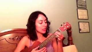 La Vie En Rose - Cristin Milioti HIMYM / Edith Piaf Ukulele Cover by Amalia Miller