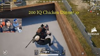 200 IQ Chicken Dinner Must Watch Till The End | Pubg Mobile Highlights!