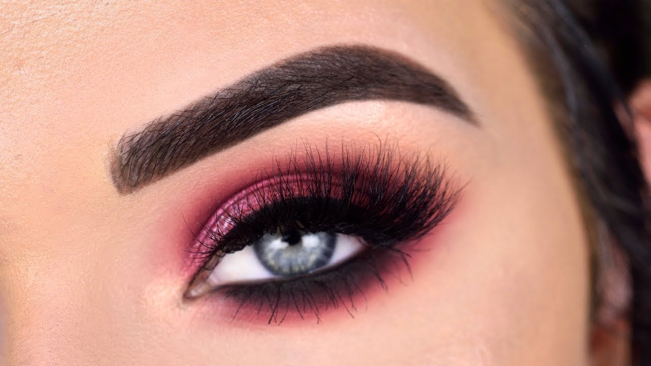 berry smokey eye makeup tutorial | natasha denona sunrise