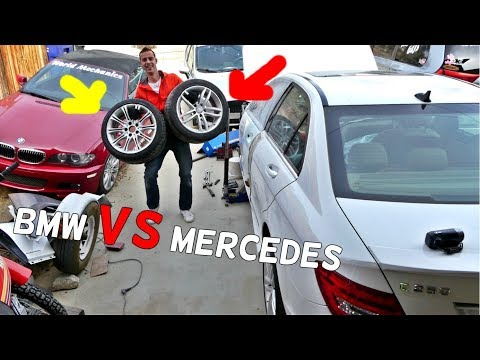 Are BMW Wheels HEAVIER Than MERCEDES Wheels