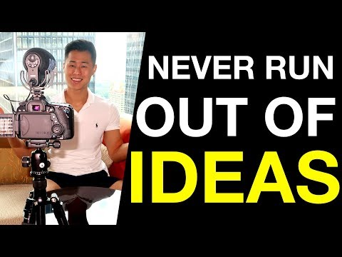 How to Never Run Out of Video Content Ideas Again