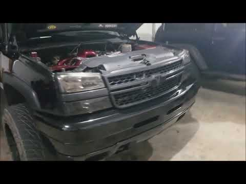 Duramax Front End Swap! Convert The 01-02 Silverado To A 03-07