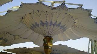 preview picture of video 'Madina Munawwara's Umbrellas'
