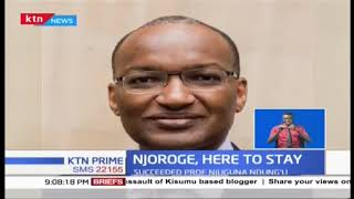 President Uhuru re-appoints Patrick Njoroge as CBK Governor