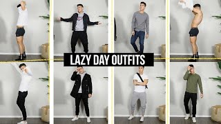 10 Lazy Day OUTFIT Ideas | STYLISH & COMFORTABLE - Mens Fashion | Jairwoo