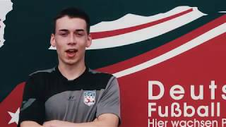 Young football talent - Jay Winter (DFI U17) - 17 years old