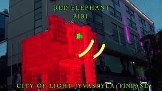 ELEPHANT ROUGE (RED ELEPHANT) - Jyväskylä, Finland - 2018