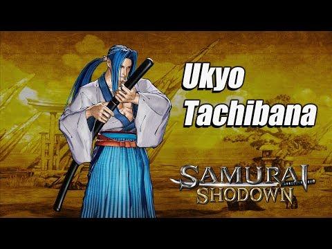 Samurai Shodown - Ukyo FR de Samurai Shodown