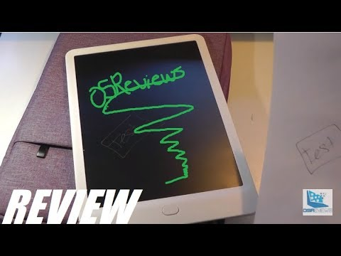 "REVIEW: 10"" LCD Writing Tablet - Replaces Paper?!"