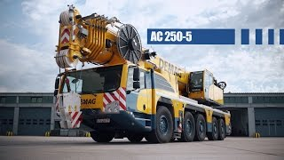 Demag AC 250-5 Test Drive